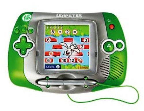 LeapFrog-Leapster-Learning-Game-System-Green