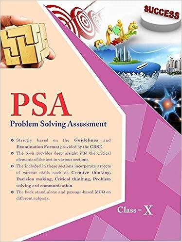 Problem solving assessment