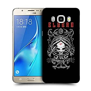 Snoogg Elzero Skull Designer Protective Back Case Cover For SAMSUNG GALAXY J7 2016 J710X
