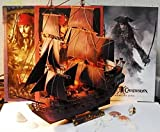 QJ The Black Pearl Pirates of The Caribbean 3D DIY Paper Model SHIP 40cm 16 Tall