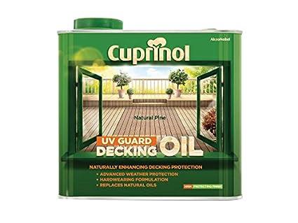Cuprinol 2.5L Decking Petróleo y protector-Pino Natural