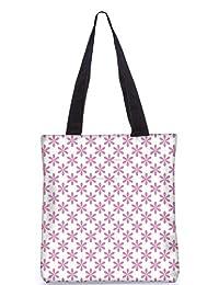 Snoogg Colorful Mixed Circles Digitally Printed Utility Tote Bag Handbag Made Of Poly Canvas