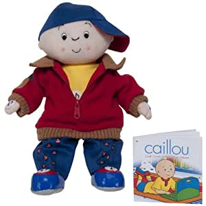 Caillou Laugh N Learn 12'' Talking Doll