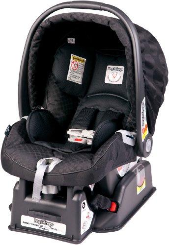 Peg-Perego 2011 Primo Viaggio Infant Car Seat, Pois Black front-111761