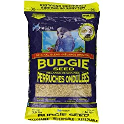 Hagen Budgie/ Parakeet Vitamin and Mineral Enriched Seed, 1.36 Kg.