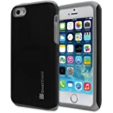 GreatShield Apple iPhone 5 / 5S / 5C [NEON Series] PC + Silicone Protective Dual Layer Hybrid Cover Case (Gray)