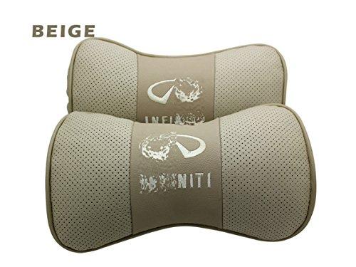 leather-car-seat-neck-rest-belt-headrest-pillows-2pcs-set-for-infiniti-fx35-fx50-qx56-g37-g25-ex37-e