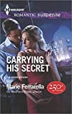 img - for Carrying His Secret (Harlequin Romantic Suspense\The Adair Af) book / textbook / text book
