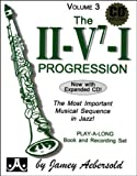Aebersold 3 CD The II/V7/I Progressions + CD