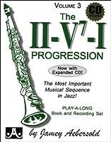 Aebersold 3 CD The II/V7/I Progressions + CD