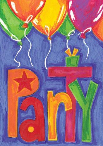 Toland Home Garden Party Balloons House Flag 101169
