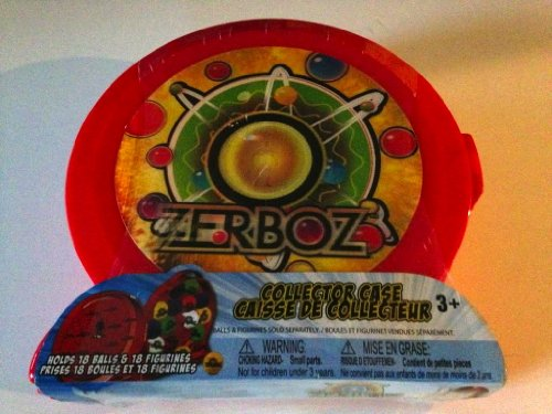 Zerboz Collector Case - Holds 18 Balls and 18 Figurines - 1