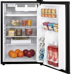GE WMR04GADBB 4.4 Cu. Ft. Black Undercounter Compact Refrigerator