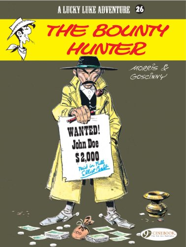 A Lucky Luke Adventure, Tome 26 : The Bounty Hunter (Lucky Luke Vol 26)