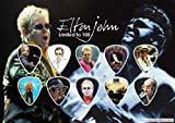 Elton John Guitar Pick Display (Limited to 100)