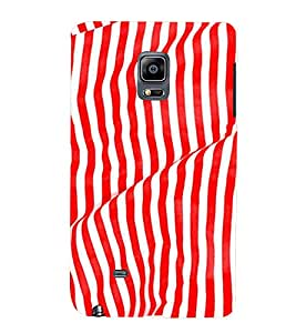 PrintVisa 3D Art Pattern 3D Hard Polycarbonate Designer Back Case Cover for Samsung Galaxy Note Edge