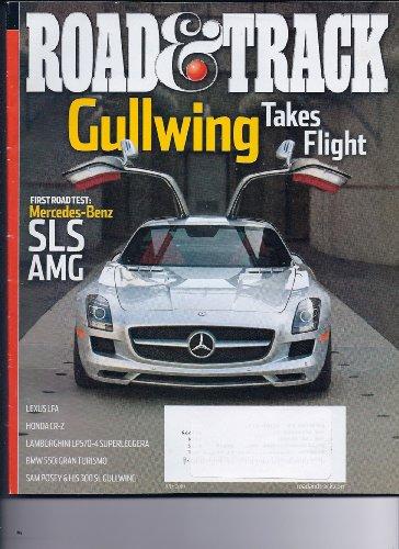 ROAD & TRACK, JULY 2010 - Mercedes Gullwing Takes Flight, Lexus LFA, Honda CRZ, Lamborhini LP570, BMW 550i, Sam Posey & his 300 SL (2011 Wrx Owners Manual compare prices)