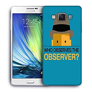 Snoogg who observes the observer 2843 Designer Protective Back Case Cover For Samsung Galaxy A7