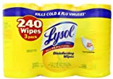 Lysol Disinfecting Wipes Value Pack, Lemon and Lime Blossom