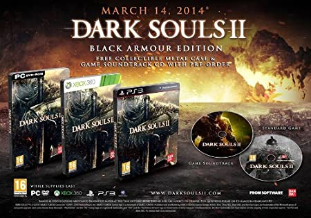 Dark Souls II - Black Armour Edition (PC CD)