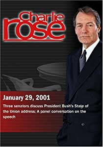 Charlie Rose with Joseph Biden, Charles Hagel & Joseph Lieberman; Michael Kinsley, Alan Brinkley, Tom Oliphant, Richard Berke & Margaret Carlson (January 29, 2001)