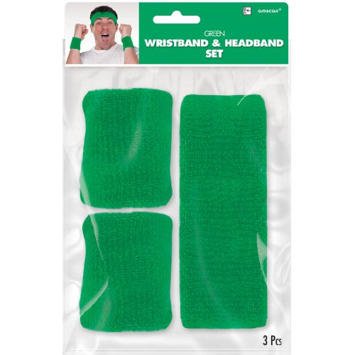 Green Wristband & Headband Kit