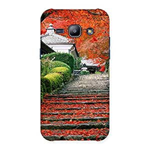 Ajay Enterprises WoStairs Garden Back Case Cover for Galaxy J1