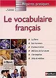 echange, troc René Charles, Sylvie Steelandt - Le vocabulaire français
