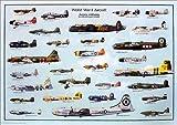 第二次世界大戦航空機 [ポスター]