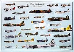 第二次世界大戦航空機 [ポスター] (-)