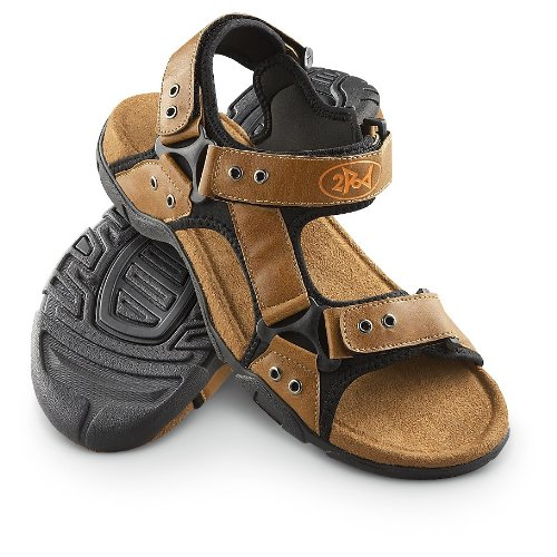 Amazon.com: Men's 2Pod Swell Sandals Brown