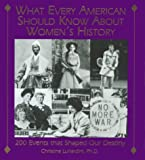 What Every American Should Know about Womens History: 200 Events That Shaped Our Destiny