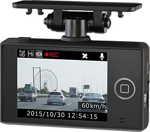 コムテック 常時録画 200万画素 Full HDドライブレコーダー GPS搭載 3年保証モデル 日本製 HDR-251GH