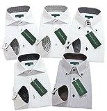 (グリニッジ ポロ クラブ) GREENWICH POLO CLUB pf L-スマート 5枚セット ワイシャツセット yシャツ ボタンダウン