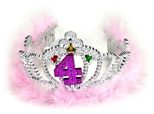 Forum Novelties 4th Birthday Flashing Tiara