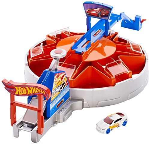 Hot Wheels Fast Blast Car Park Carrying Case (Hot Wheels Garage Cars compare prices)