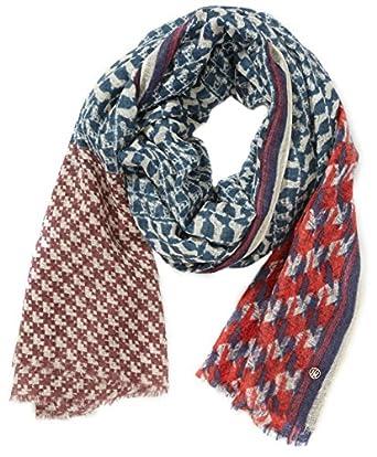tommy hilfiger damen schal sally jigsaw mix scarf. Black Bedroom Furniture Sets. Home Design Ideas