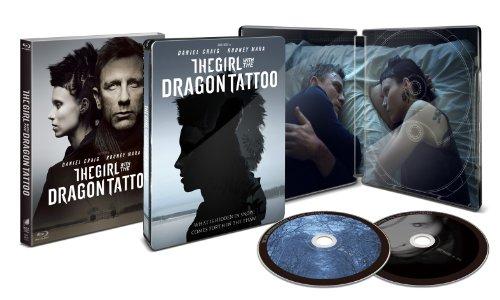 【Amazon限定】ドラゴン・タトゥーの女  デラックス・コレクターズ・エディション  スチールブック (2枚組) [Blu-ray]