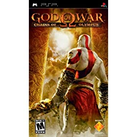 buy psp games - God of War Chains of Olympus