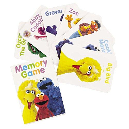 Sesame Street Memory Game 4ct