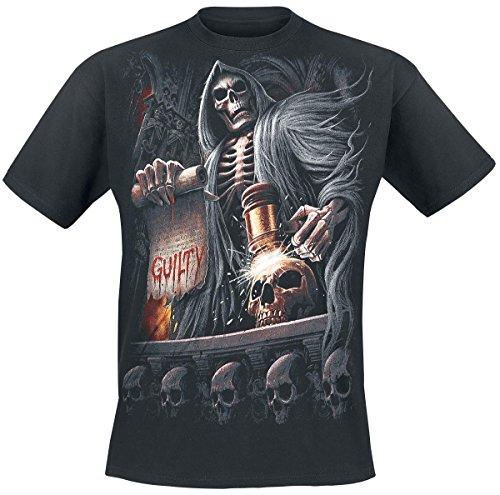 Spiral Judge Reaper T-Shirt nero XXL