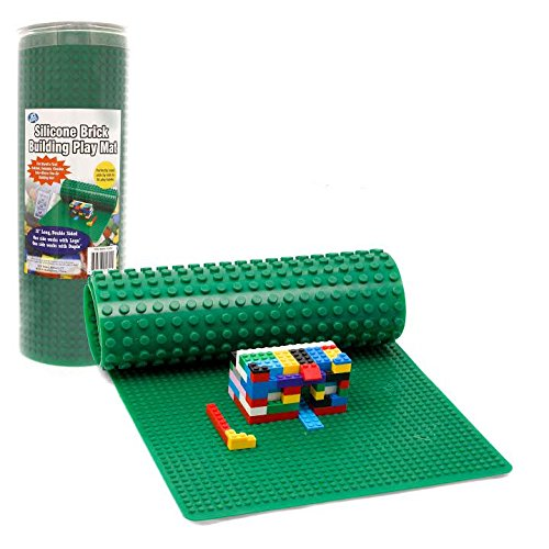 Brick Building Play Mat By SCS- Rollable, Two Sided