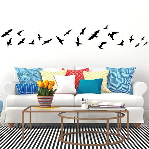 adesivo-volo-degli-uccelli-uccellini-20pezzi-20-x-131-cm-grigio-medio