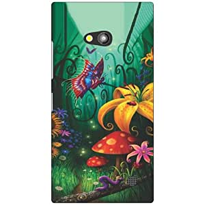 Via flowers Gardenic Phone Cover For Nokia Lumia 730