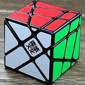 YJ MoYu Crazy Fisher Speed Cube Puzzle Black