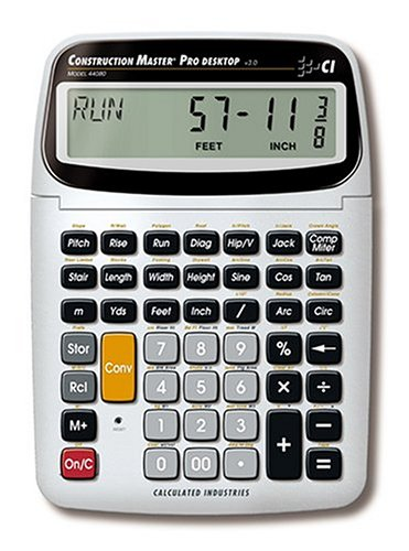 Calculated industries 44080 construction master pro New construction calculator