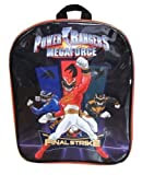 Power Rangers Final Strike Black and Red Children's Backpack
