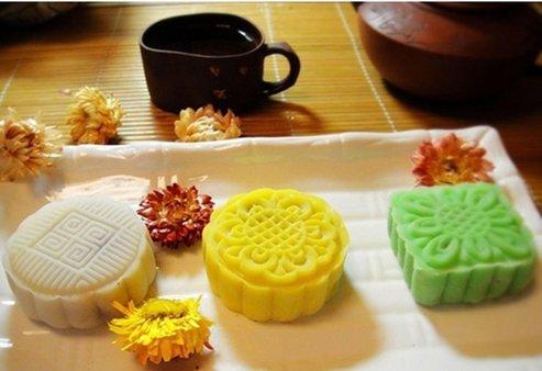 Moon Festival Cake