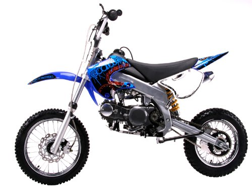 Dirt bike 125cc Manual Clutch, Blue
