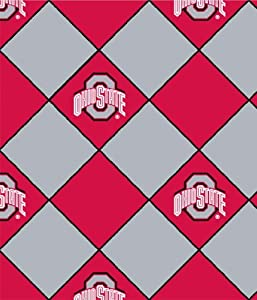 *NEW* Ohio State No Sew Fleece Throw Kit- 100% Fleece No Sew Blanket Kit